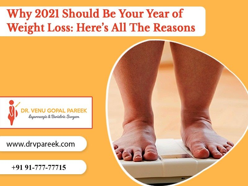 Met Dr. Venugopal Pareek to know your Ultimate Fat Loss Plan for 2021, One of the best Bariatric Surgeons in Hyderabad